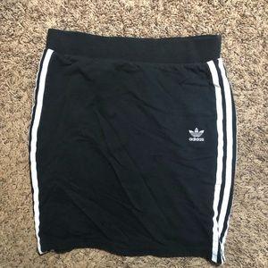 Adidas mini skirt
